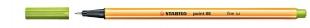 Liner Stabilo Point 88/33 - 0,4 mm, jablkově zelený