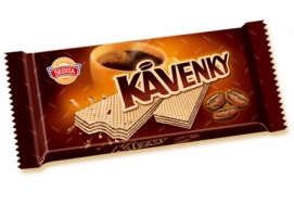 Kávenky Sedita - oplatky, kakaová náplň, 50 g