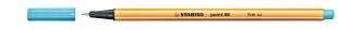 Liner Stabilo Point 88/57 - 0,4 mm, azurová