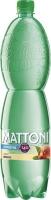 Neperlivá voda Mattoni - broskev, PET, 1,5 l