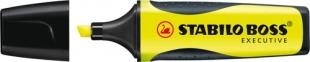 Zvýrazňovač Stabilo Boss Executive 73/14 - klínový hrot, 2-5 mm, žlutý