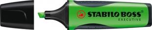 Zvýrazňovač Stabilo Boss Executive 73/52 - klínový hrot, 2-5 mm, zelený