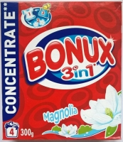 Prací prášek Bonux Magnolia - bílé prádlo, 4 dávky DO VYPRODÁNÍ ZÁSOB