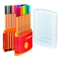 Liner Stabilo Point ColorParade 8820-03 - 0,4 mm, sada 20 ks