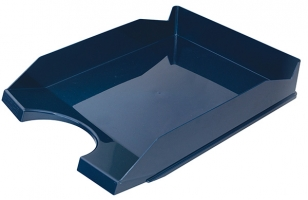 Odkládací zásuvka Office Products - plastová, tmavě modrá
