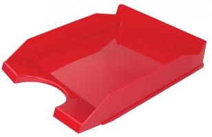 Odkládací zásuvka Office Products - plastová, červená