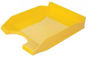 Odkládací zásuvka Office Products - plastová, žlutá
