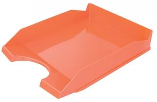 Odkládací zásuvka Office Products - plastová, oranžová