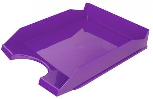 Odkládací zásuvka Office Products - plastová, fialová