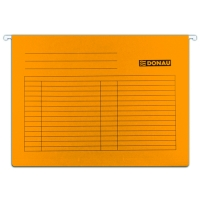 Závěsná papírová deska Donau - A4, 230 g, oranžová