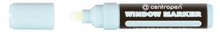 Křídový popisovač Centropen Window Marker 9121 - 3-4 mm, bílý
