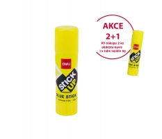 2 ks lepící tyčinka Deli Stick Up EA20110 - s glycerinem, 15 g + DÁREK 1x lepicí tyčinka Stick Up 8 g - POSLEDNÍ KUS