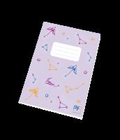 Školní sešit Hvězdná obloha Paper Factory - A5, linkovaný, 40 listů, fialový - LIMITOVANÁ EDICE