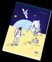 Náčrtník astronauta Paper Factory - A4, 20 listů - LIMITOVANÁ EDICE