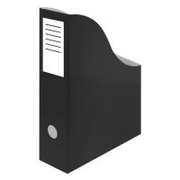 Stojan na katalogy A4 - 300x240x80 mm, karton, černý