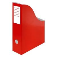 Stojan na katalogy A4 - 300x240x80 mm, karton, červený