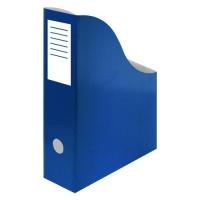 Stojan na katalogy A4 - 300x240x80 mm, karton, modrý