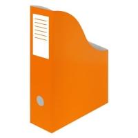 Stojan na katalogy A4 - 300x240x80 mm, karton, oranžový