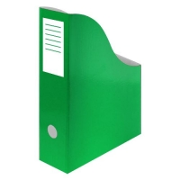 Stojan na katalogy A4 - 300x240x80 mm, karton, zelený