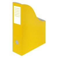 Stojan na katalogy A4 - 300x240x80 mm, karton, žlutý
