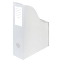 Stojan na katalogy A4 - 300x240x80 mm, karton, bílý