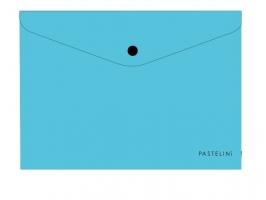 Spisové desky s drukem A4 Pastelini - plastové, modré
