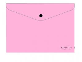 Spisové desky s drukem A4 Pastelini - plastové, růžové