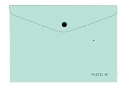 Spisové desky s drukem A4 Pastelini - plastové, zelené