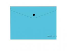 Spisové desky s drukem A5 Pastelini - plastové, modré