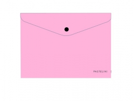 Spisové desky s drukem A5 Pastelini - plastové, růžové