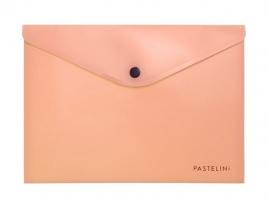 Spisové desky s drukem A5 Pastelini - plastové, meruňkové