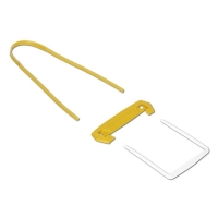 Archivační spona Fellowes Tube - žluto-bílá, 100 ks