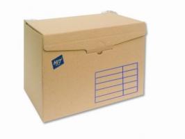 Archivační box Board Natur - 400x335x265 mm, hnědý