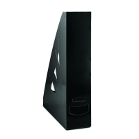 Stojan na katalogy Office Products - A4, plastový, 310x240x70 mm, černý