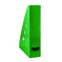 Stojan na katalogy Office Products - A4, plastový, 310x240x70 mm, zelený