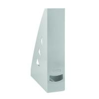 Stojan na katalogy Office Products - A4, plastový, 310x240x70 mm, šedý