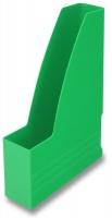 Stojan na katalogy Chemoplast - plastový, zelený - DOPRODEJ