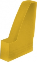 Stojan na katalogy Chemoplast - plastový, žlutý - DOPRODEJ