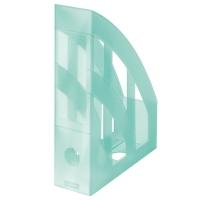 Stojan na katalogy Herlitz- plastový, transparentní mátový