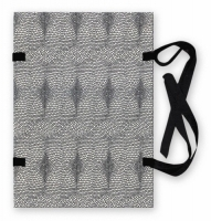 Spisové desky s tkanicí A4 - lepenka, hadí kůže