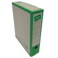 Archivační krabice na pořadač Board Colour - 330x260x75 mm, hnědá/zelená