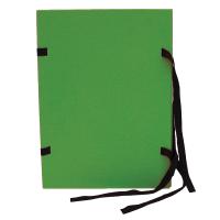 Spisové desky s tkanicí A4 - lepenka, zelené