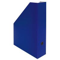 Stojan na katalogy A4 - 325x250x75 mm, lakovaná lepenka, modrý