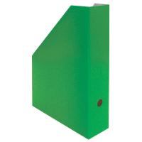 Stojan na katalogy A4 - 325x250x75 mm, lakovaná lepenka, zelený