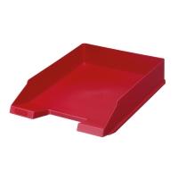 Odkládací zásuvka Herlitz - plastová, červená
