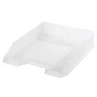 Odkládací zásuvka Herlitz - plastová, transparentní, bílá