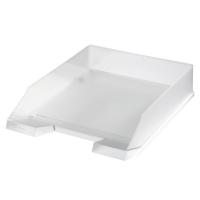 Odkládací zásuvka Herlitz - plastová, transparentní, matná