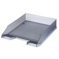 Odkládací zásuvka Herlitz - plastová, transparentní, šedá