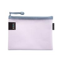 Obálka s kovovým zipem A5 Pastelini - plastová, růžová