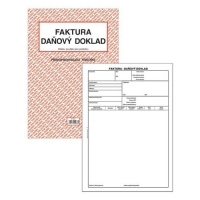 Faktura-Daňový doklad PT 210 - propisující, A4, 50 listů